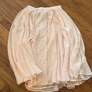 H&M ballet type skirt
